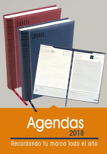 agendas 2018 promocional