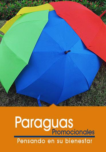 paraguas promocionales todos los colores
