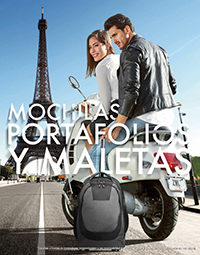 mochilas maletas catálogo