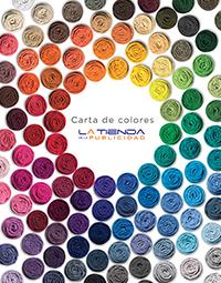 Carta de colores camisetas