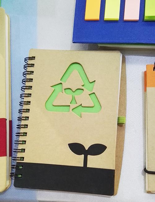 promocionales libretas ecológicas
